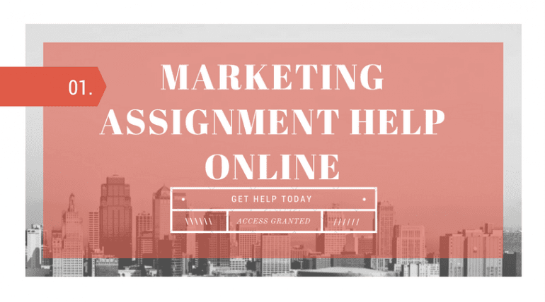 Marketing Assignment Help Online