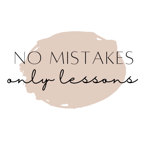 Learn lessons from mistakes