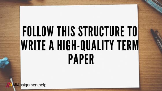 HIGH-QUALITY-TERM-PAPER