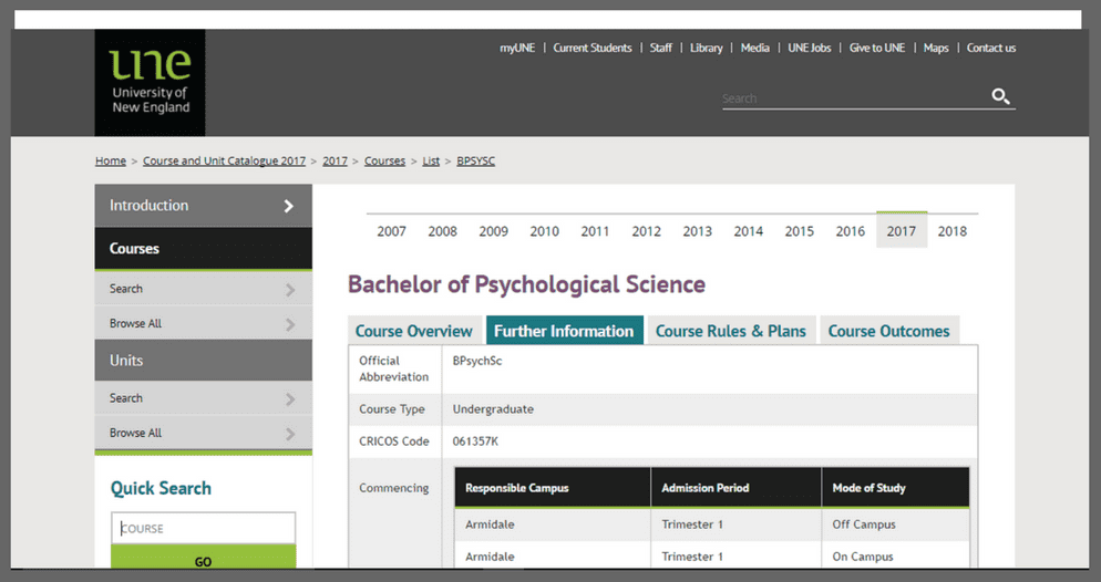 une-bachelor-of-psychological-science