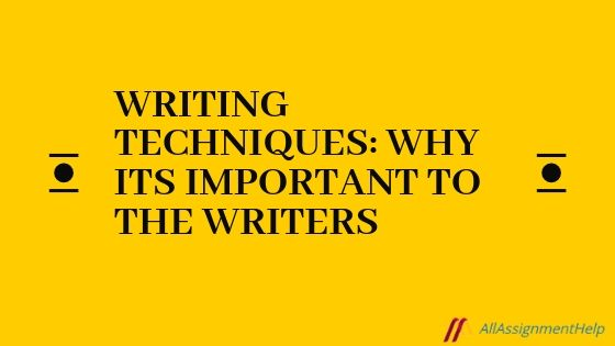 Writing Techniques