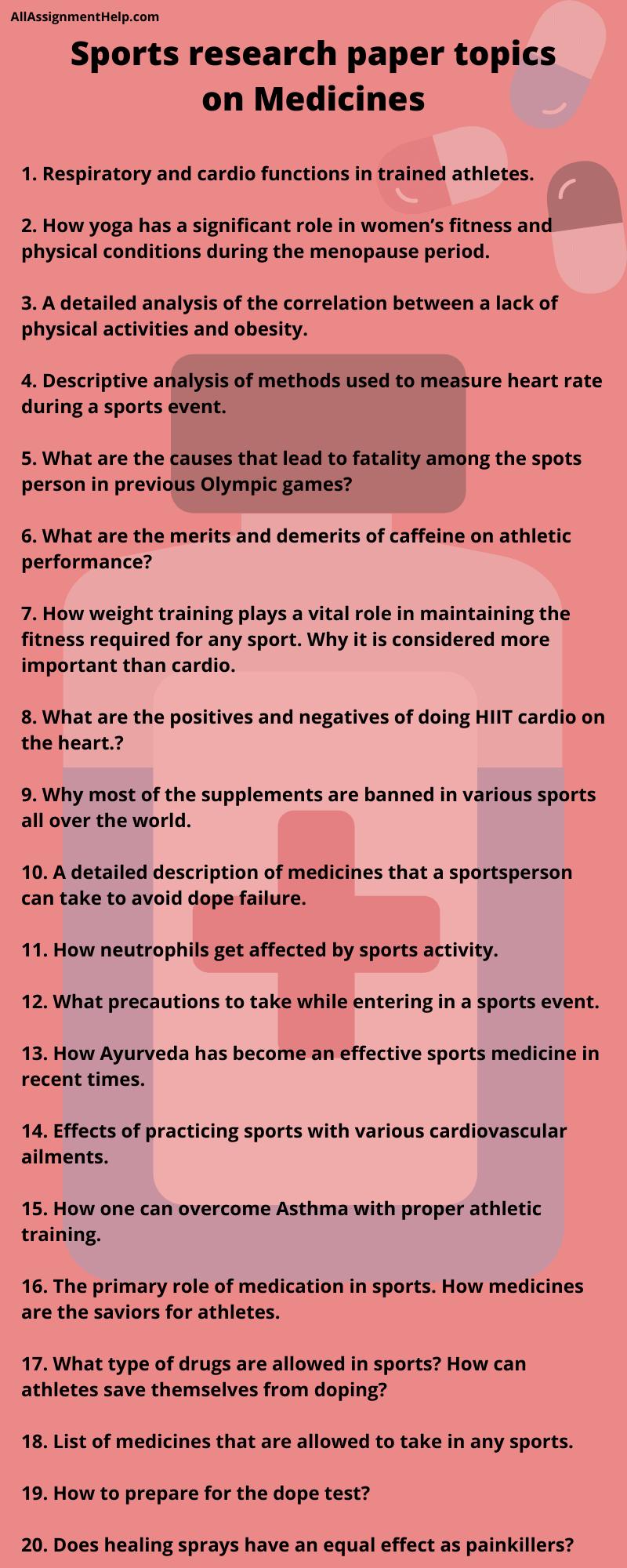 sports-research-paper-topics-medicine