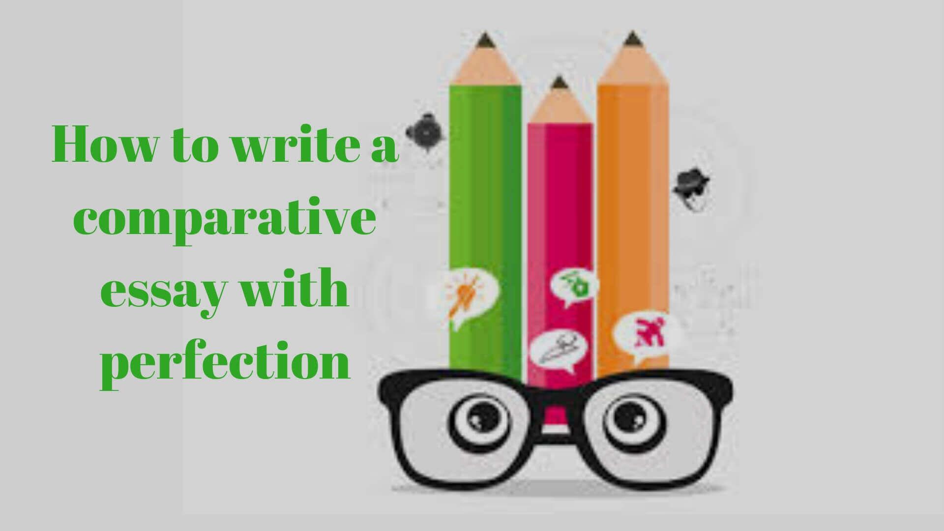 comparative essay example