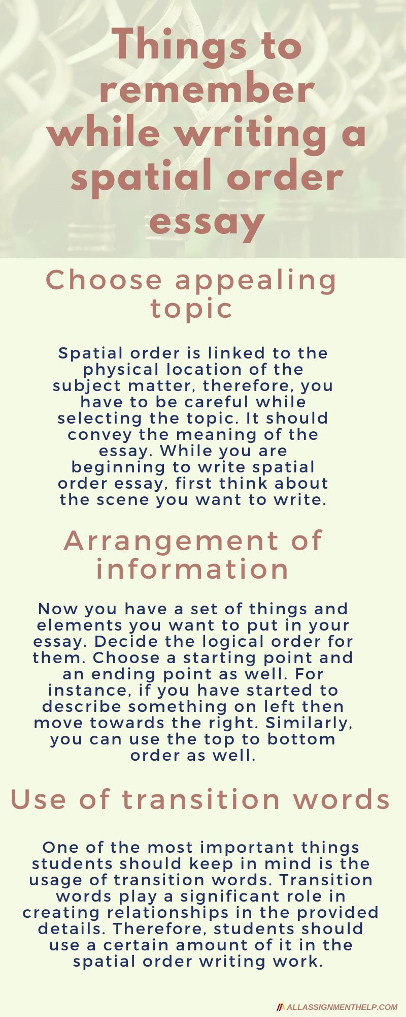 spatial-order-essay